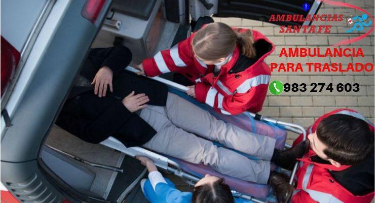 Ambulancia para Traslado